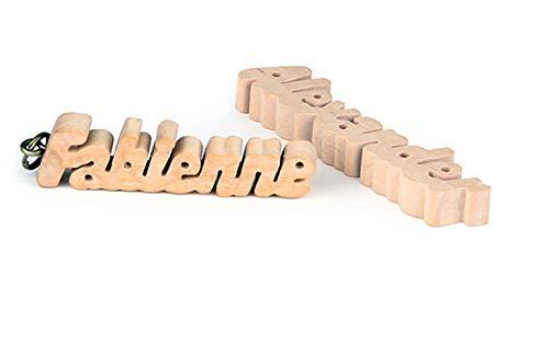 Brink Holzspielzeug Schlüsselanhänger mit ihrem Namen!!! (handgefertigt)
