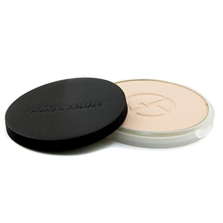 抵抗力があるユーモア魅力ジョルジオアルマーニ Lasting Silk UV Compact Foundation SPF 34 (Refill) - # 3 (Light Sand) 9g/0.3oz並行輸入品