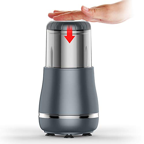 Best Quality Fine Metal Stainless Steel Custom Classic Good Quality Electrical Automatic Small Coffee Grinder