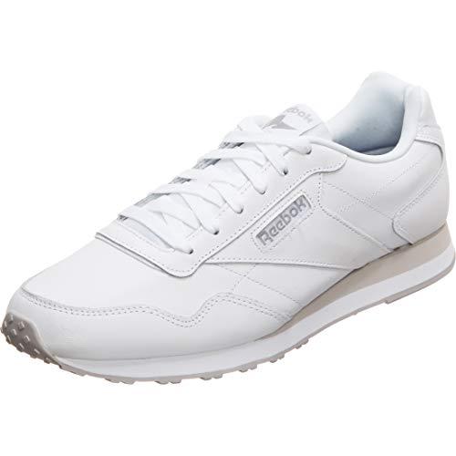 Reebok womens Sneaker, WHITE/STEEL, 5.5 US