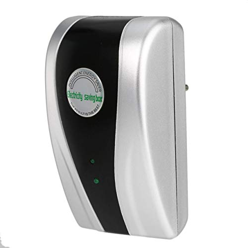 SD-001 30KW Intelligent Energy Saver 90V-250V New-Typ Strom Electricity Saving Box Digitale Leistungsstarke Stromspargerät (Farbe: Silber)