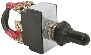 Heavy Duty (Forward - Stop - Reverse) Toggle Switch- 15A 250 VAC/20A 125 VAC - Fits most Sewer & Drain Cleaning Machines (Spartan) - Complete with jumping wires and waterproof jacked on switch.