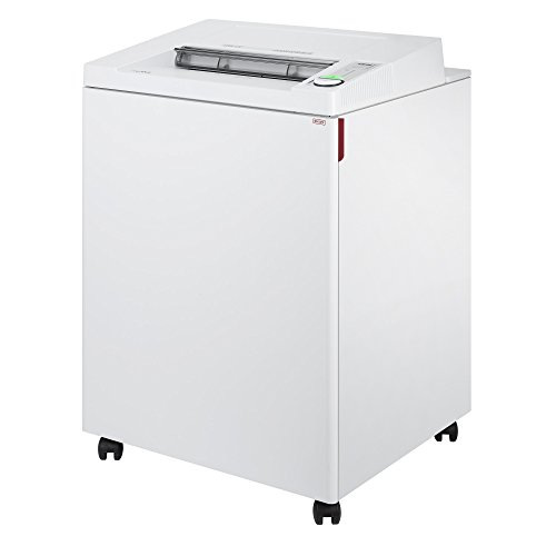 ideal. 4002 Strip Cut Centralized Office Paper Shredder, Continuous Operation, Shreds 32-35 Sheet Capacity, 44 Gallon Bin, Shred Staples/Paper Clips/Credit Cards/CDs/DVDs, 1 3/4 HP Motor, P-2 Security