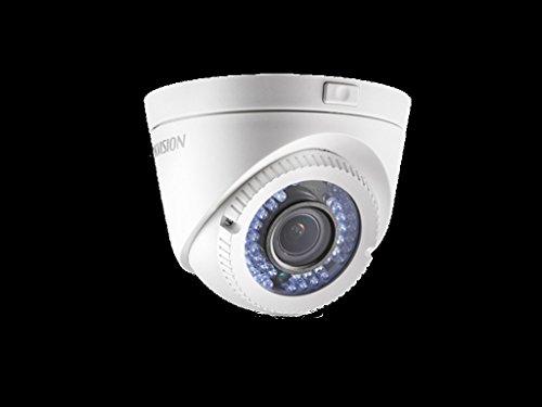 'DS-2ce56d1t -vfir3, Hikvision TVI Dome Camera (IP66), 1080p Cmos 1/2.7, 2,8–12mm Vario Zoom, 40m IR, 12V DC