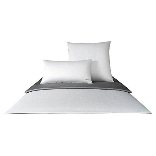 Joop! Bettwäsche Micro Pattern Silber 4040-9 Kissenbezug einzeln 40x40 cm