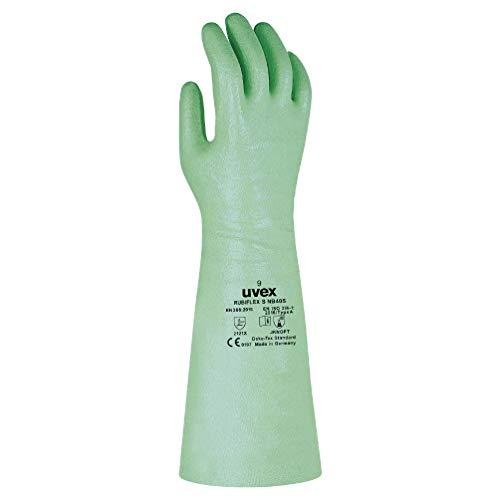 1 Paar uvex Nitril-Handschuhe,Rubiflex S NB 40 S,Gr.10