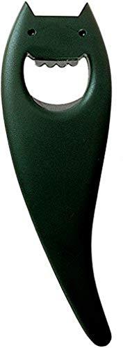 Alessi ABC01 B Diabolix Flaschenöffner, thermoplastisches Harz, schwarz, 14 x 6.5 x 29 cm
