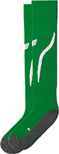 erima Tanaro Stutzenstrumpf, Grün (smaragd/weiß), 44-46 (Herstellergröße:4)