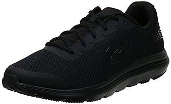 Under Armour mens Surge 2 Running Shoe Black  002 Black 9.5 US