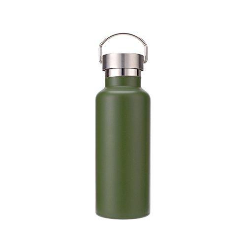 KDOAE Botellas Aisladas Botella de Agua con Aislamiento de Doble Pared al...