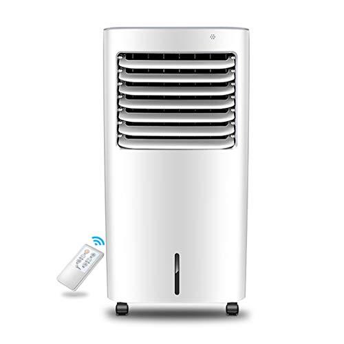 JCJ-Shop Tragbarer Luftkühler, 4-in-1-Luftkühler mit Befeuchtungs- und Luftreinigungsfunktion, 55 W, 10-Liter-Wassertank, Klimaanlage mit Fernbedienung