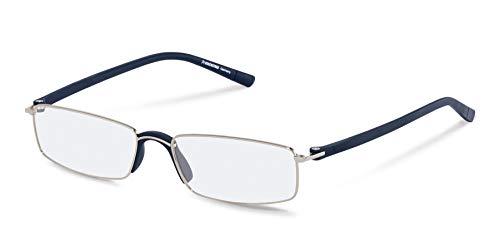 Rodenstock Unisex Lesebrille R2640, Lesehilfe mit entspiegelten Vollrandgläsern, Brille mit leichtem Edelstahlgestell, bei Weitsichtigkeit
