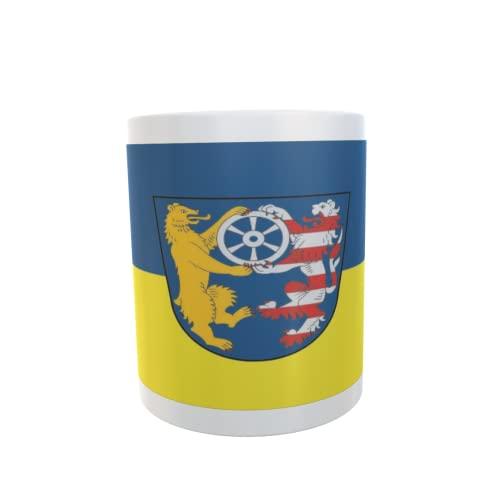 U24 Tasse Kaffeebecher Mug Cup Flagge Stadtallendorf