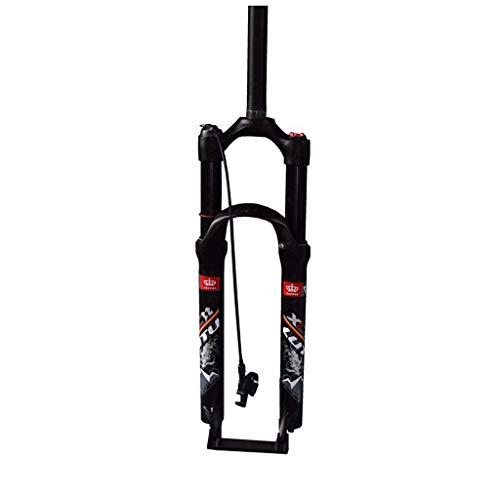 ZNND 26inch Mountain Bike Forcella Ammortizzata, 1-1/8' Leggero Lega di Alluminio MTB Ciclismo Spalla Controllo Viaggio: 100mm (Colore : C, Dimensioni : 26inch)