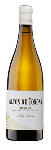 Botella de Vino Blanco Altos de Torona O´Rosal Albariño Denominación Rias Baixa