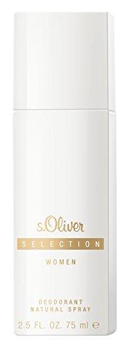 S.Oliver Selection Woman femme/woman, Deodorant, Vaporisateur/Spray, 1er Pack (1 x 75 g)