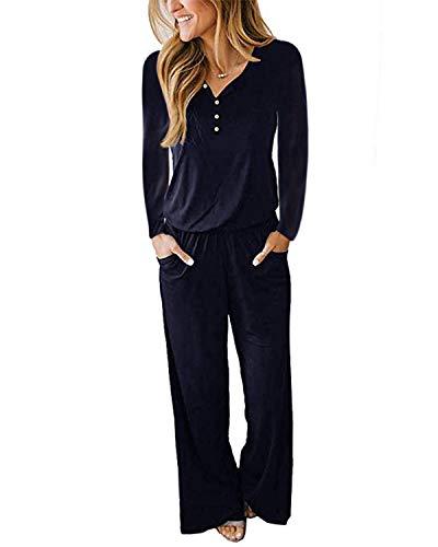 Mono deportivo para mujer de verano, camiseta de manga larga con pantalón ancho, camisa casual, falda