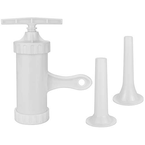 KLYNGTSK Embutidora Manual para Salchichas Plástico Embutidora de Salchicha Máquina de Embutir...