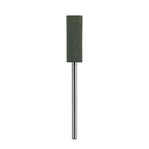 Pointe pour poncer Fraise en Silicone Vert – Gros grain – Ø 6 mm