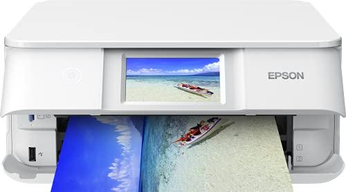 Epson Expression Photo XP-8605 3-in-1 Tintenstrahl-Multifunktionsgerät Drucker (Scanner, Kopierer, WLAN, Duplex, 10,9 cm Touchscreen, Einzelpatronen, 6 Farben, DIN A4) weiß