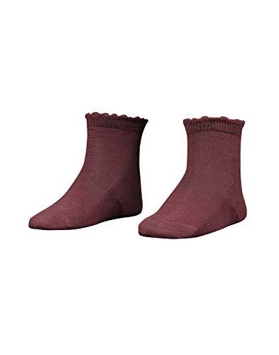 Dilling Socken für Kinder aus Bio-Merinowolle Rouge 19-22