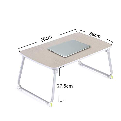 NO LOGO Kleiner Tisch einfache Studie Tisch Schreibtisch Multifunktionstisch Notebook-Computer-Schreibtisch Haushaltsmobil Studenten Schreibtisch Schlafsaal Faltbare Faule Arbeitstisch BTZHY