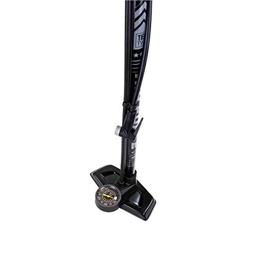 Serfas FP-T2 Air Force Tier Two Bicycle Floor Pump Black