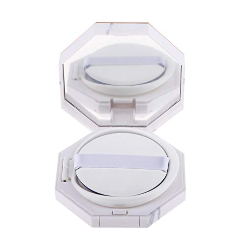 shamjina Travel Compact Box Portable Empty Air Cushion Puff Container Dressing Case - 28 mm Tall