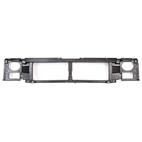 ECOTRIC Header Panel Grille Mount Panel for 1992-1997 Ford F-150 F-250 Bronco Replacement for FO1220113, F6TZ8A284AC