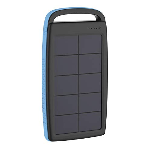 Xlayer Powerbank Plus Solar Black/Blue 20000mAh