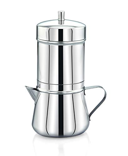 Expresso Stainless Steel South Indian Filter Coffee Maker, Tea Pot/Coffee Kettle 250 ml