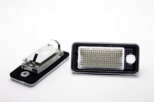2x Feux plaque d'immatriculation LED pour A. q7 '05 + Canbus
