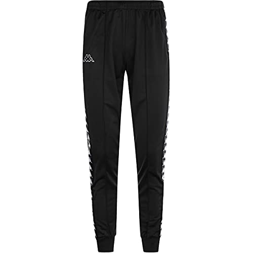 Pantalón de chándal para hombre KAPPA en tejido negro 303KUC0-J61