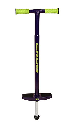 NSG Grom Pogo Stick - 5 to 9 Year Olds, 40-90 Pounds, Purple