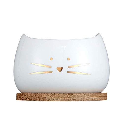 4 Pollici Carnose Piccoli Vasi di Ceramica, Interno Casa Comune Cute Vaso di Fiori Creativo (Color : Golden Suit)