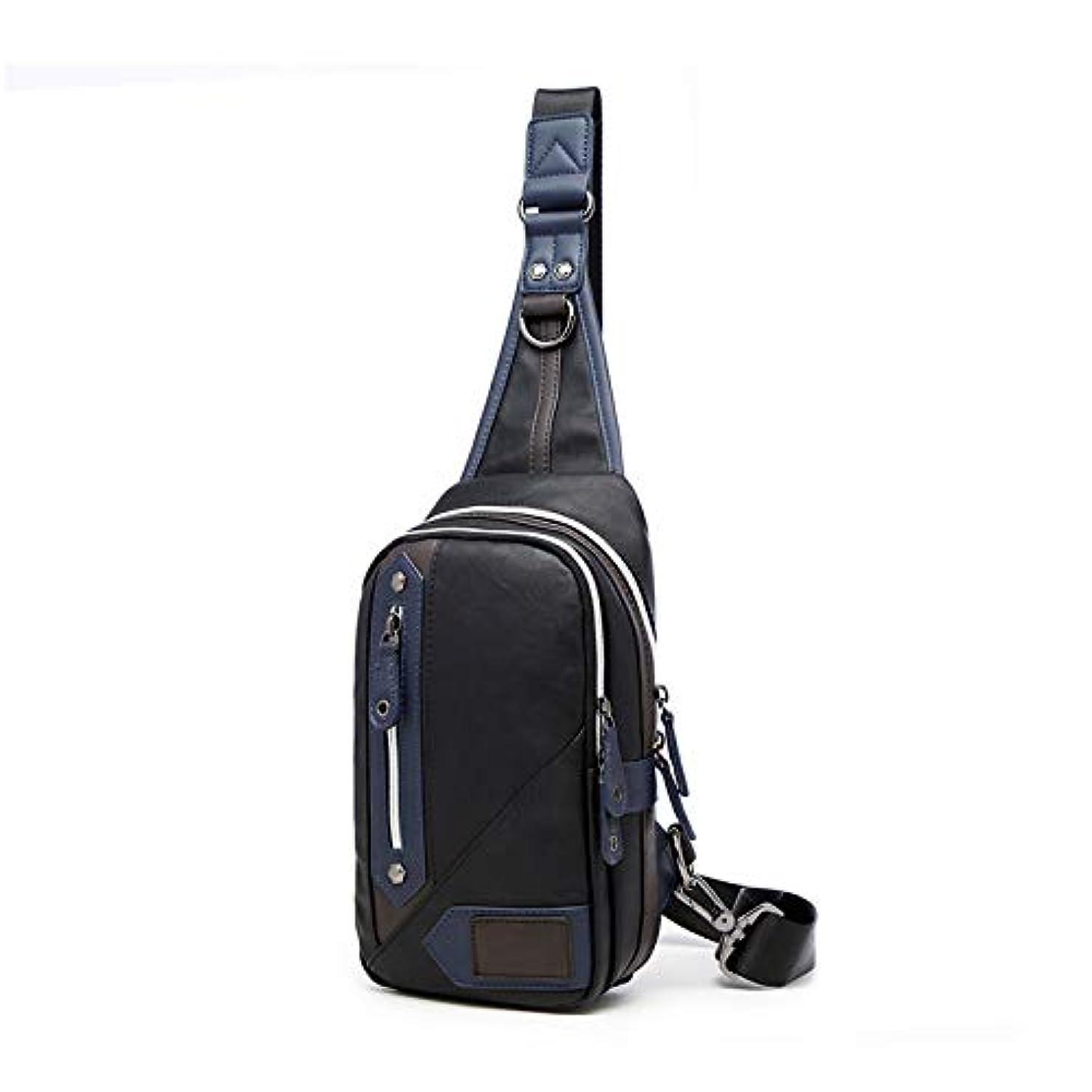 吸い込むデコラティブ強風ボディバッグ メンズ ショルダーバッグ ワンショルダー 斜めがけバッグ