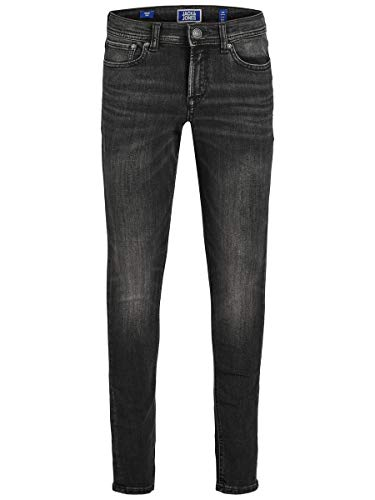 JACK & JONES Boy Skinny Fit Jeans Boys 164Black Denim
