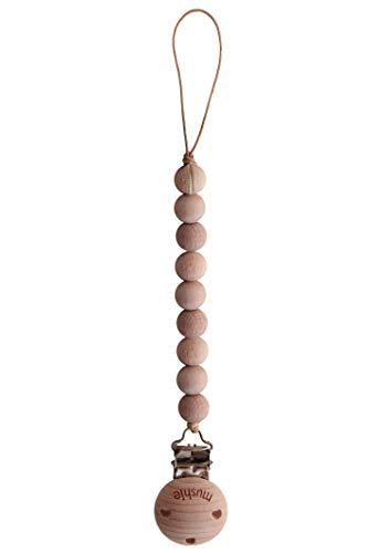 Imagen del producto portaclips de chupete Mushie