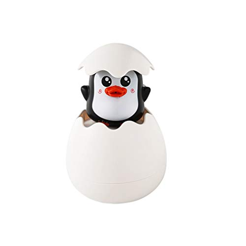 TOPBATHY Baby Badespielzeug Squirt Toys Pinguin in Ei Schwimmbad Spielzeug Wasserspray Spielzeug Schwimmbadewanne Pool für Kinder Baby Kids