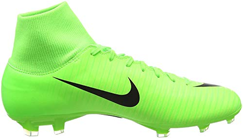 Nike Herren Mercurial Victory Vi Df Fg Fußballschuhe, Grün (Electric Green/Flash Lime/White/Black), 44 EU(10 US)