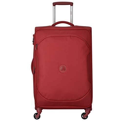 DELSEY Paris U-Lite Classic 2 Maleta, 68 cm, Liters, Rojo (Rouge)