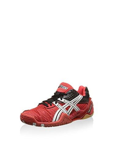ASICS Damen Gel-Blast 5 Sneaker, rot/weiß/schwarz, 37 EU