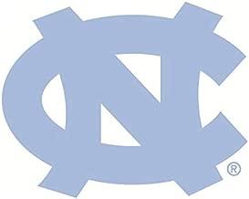 7 Inch UNC Blue Logo Decal University of North Carolina Tarheels Tar Heels NC Removable Wall Sticker Art NCAA Home Room Decor 7 1/2 by 6 Inches