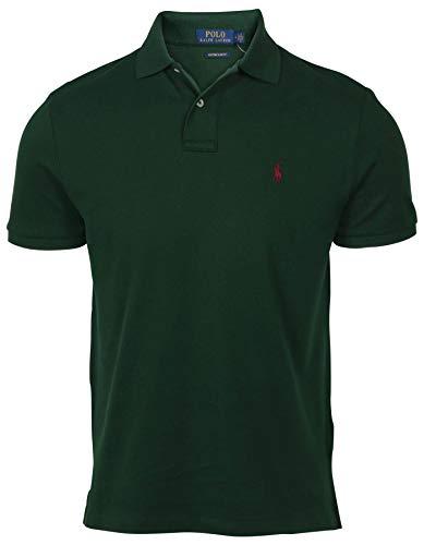 Polo Ralph Lauren Herren Poloshirt Classic Fit Mesh - grün - Klein
