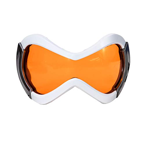 HNNS OW Tracer Cosplay Orange Lens Eye Mask Resin Goggles Costume Accessories Props