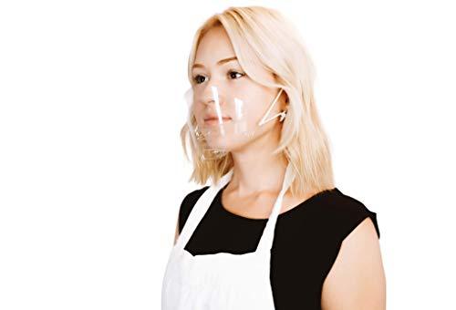 (30 Masks) Ultralight Mask Transparent Hygienic Open Face ...