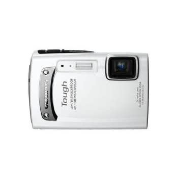 OLYMPUS 防水デジタルカメラ TOUGH TG-310 ホワイト 3m防水 1.5m耐落下衝撃 -10℃耐低温 1400万画素 3.6倍光学ズーム 2.7型液晶 TG-310 WHT