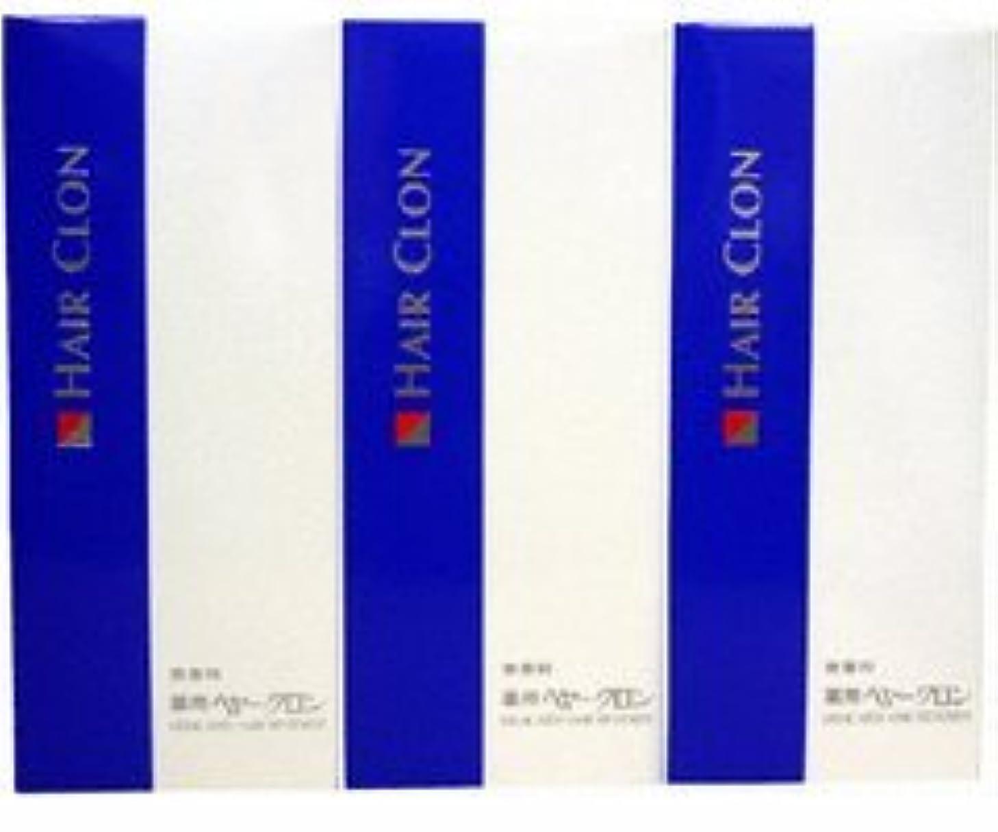 コンソール暴露するお香サンスター 薬用ヘヤークロン 無香料190ml  3個セット