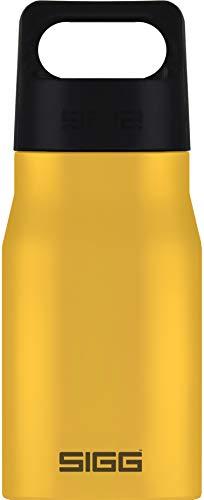 SIGG Explorer Mustard Trinkflasche (0.55 L), schadstofffreie und auslaufsichere Trinkflasche, robuste und geruchsneutrale Trinkflasche aus Edelstahl
