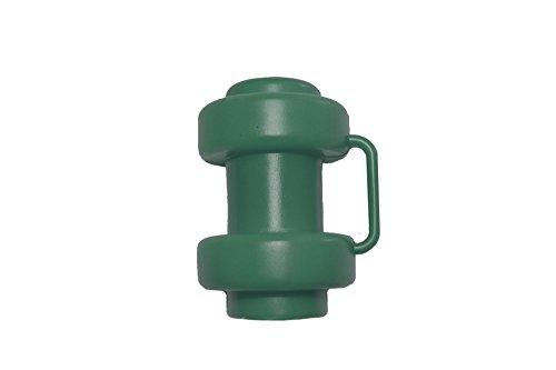 6 Stück Grüne Kappen für Innenliegendes Sicherheitsnetz Stangen Ø 25 mm Ersatzteil